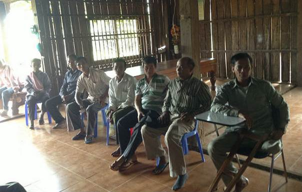 Landmine survivors in Cambodia meet in Oddar Meanchey. Photo: Jay Sklar, CPI