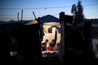 For asylum-seekers on Greece's Lesbos, life 'is so bad here'
