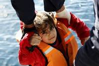 Number of migrants reaching Europe by sea soars 10-fold