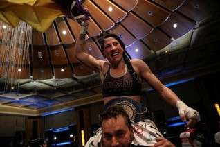 'No regrets, says Spanish boxer-politician fighting gender violence