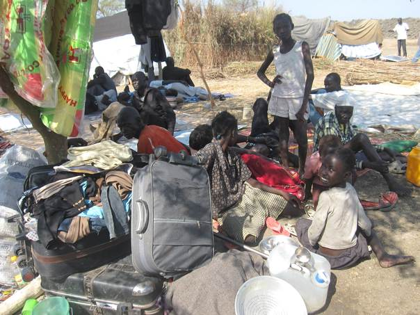 Before the rains come, Concern, working in sites in both Bentiu and the capital of Juba, is doing all it can to provide emergency relief items to the most affected. Elke Leidel/Concern Worldwide