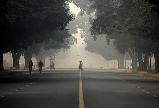 Delhi's air quality turns 'severe' as toxic haze lingers