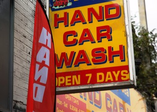 Car wash slavery main concern for callers to UK anti-trafficking helpline