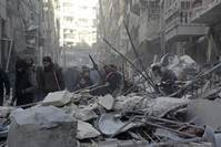 Thousands flee as offensive threatens to besiege Aleppo