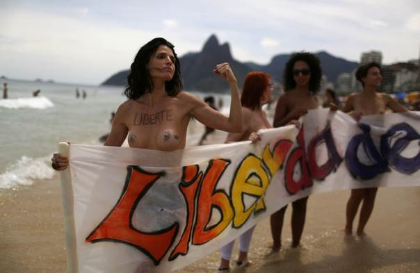 Girls from ipanema beach