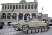 Syrian forces advance to edge of rebel border town