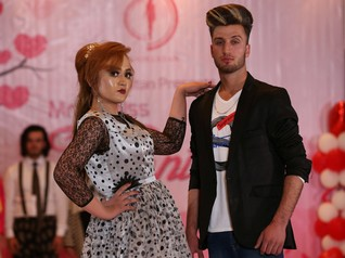 'Mr and Ms Valentine': Afghanistan celebrates with roses and fashion