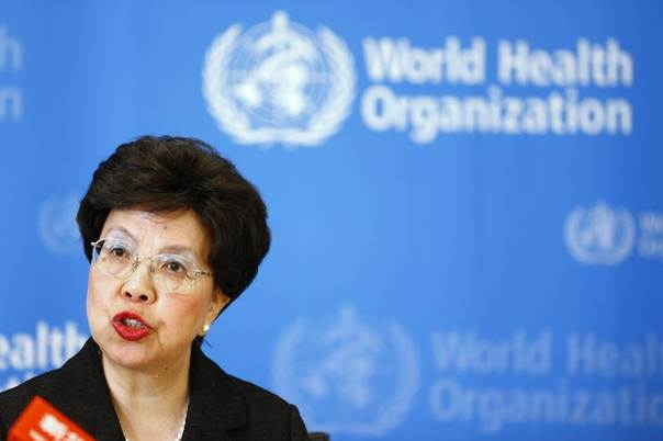 World Health Organization (WHO) Director-General Margaret Chan addresses the media after a two-day meeting of its emergency committee on Ebola, in Geneva August 8, 2014.  REUTERS/Pierre Albouy