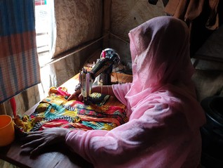 Rohingya women defy threats in refugee camps to rebuild lives one stitch at a time