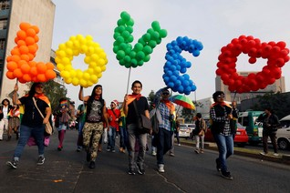 Peruvian LGBTQ couples call for marriage equality in symbolic wedding
