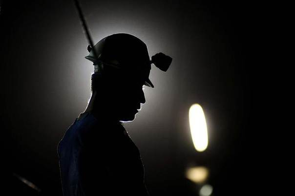 In this 2011 file photo, a miner stands near a mine where rescue workers search for trapped colleagues in Sabinas REUTERS/Courtesy Vanguardia