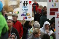 Majority of Americans now support gay marriage, survey finds
