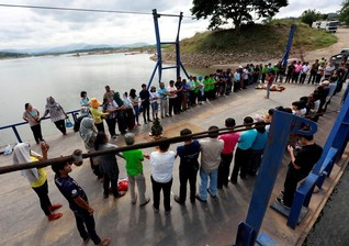 Thai villagers turn to court in protest over Mekong dam in Laos