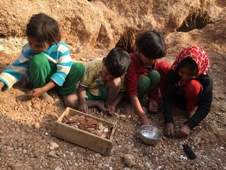 Child labour in mica mines