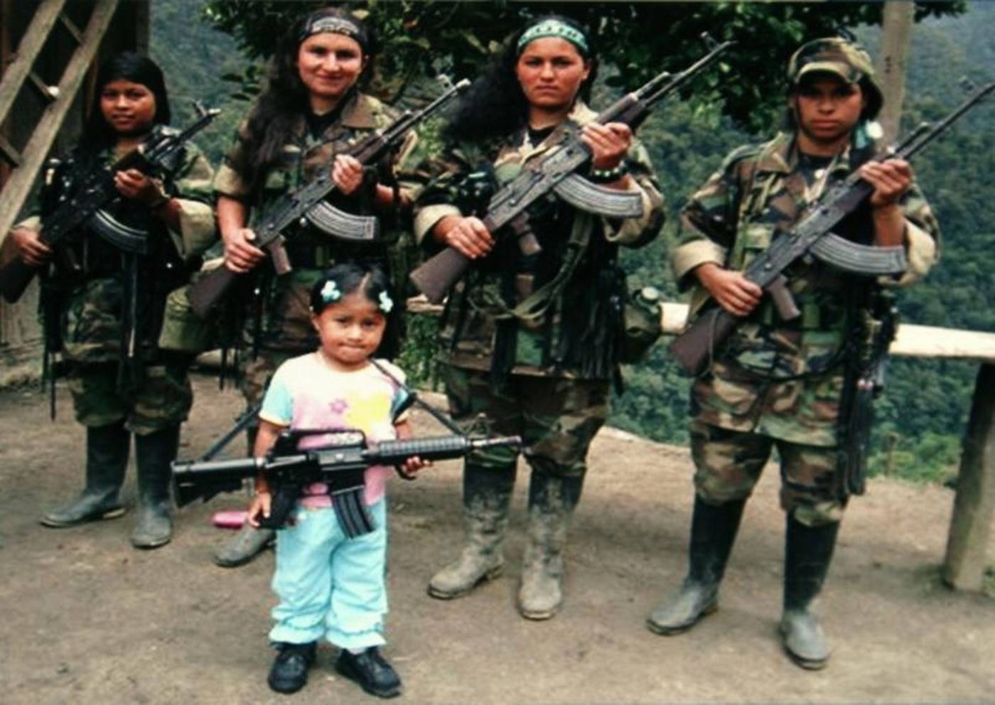 Image result for child soldiers colombia