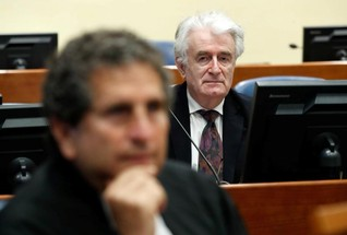 Prosecutors seek second genocide conviction, life sentence for Karadzic
