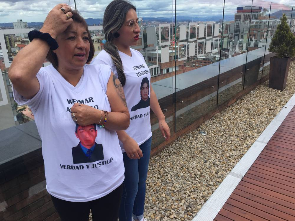 Mothers of Colombia's disappeared seek justice at war tribunal