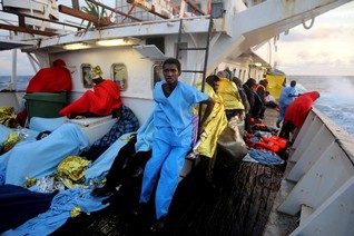 Aid groups deny rescue ships in Mediterranean are abetting migrant smugglers