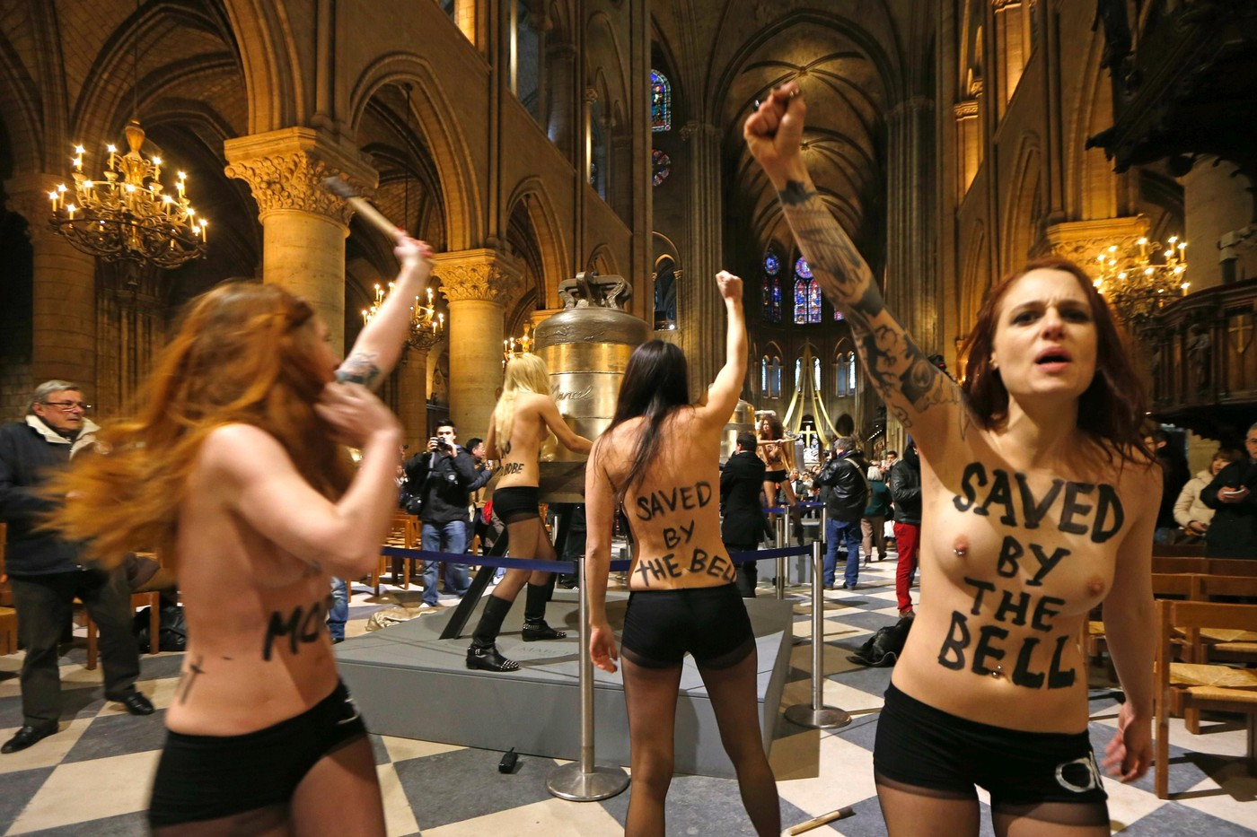 Nude notre dame girls — img 10