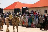 Boko Haram victims in Nigeria forced to sell sex as food runs out