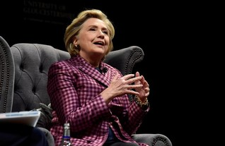 Hillary Clinton blames election loss on sexism during UK book tour